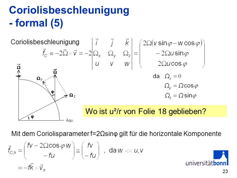 Coriolisbeschleunigung - formal (5)