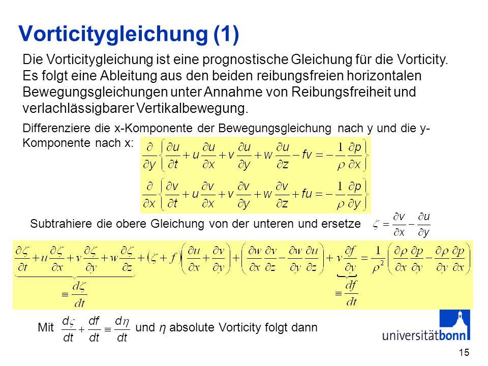 Vorticitygleichung (1)