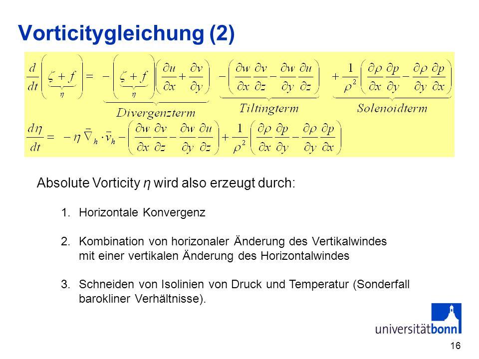 Vorticitygleichung (2)