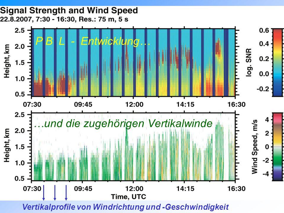 …und die zugehörigen Vertikalwinde