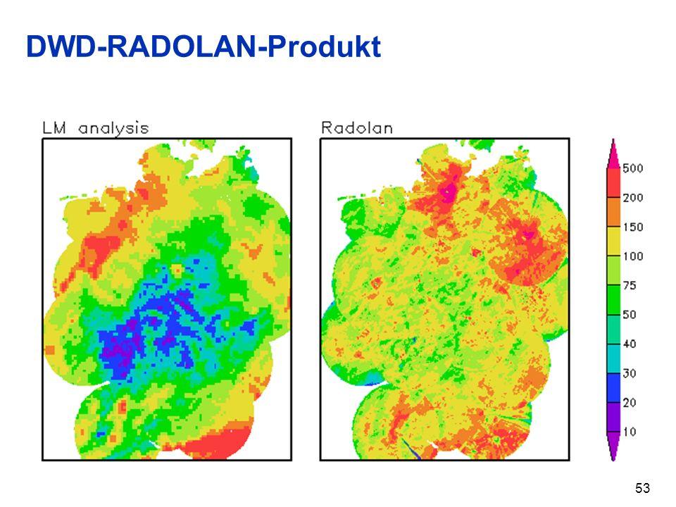 DWD-RADOLAN-Produkt