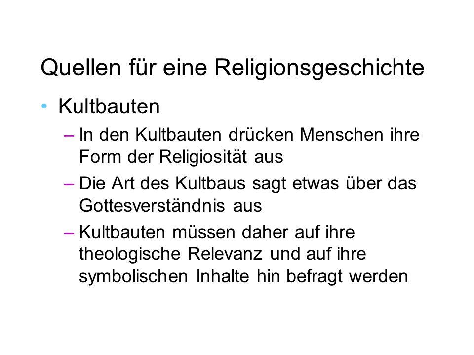 Quellen für eine Religionsgeschichte