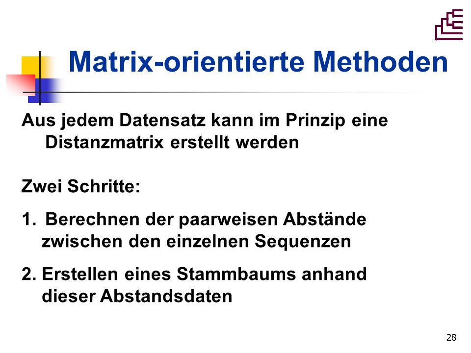 Matrix-orientierte Methoden