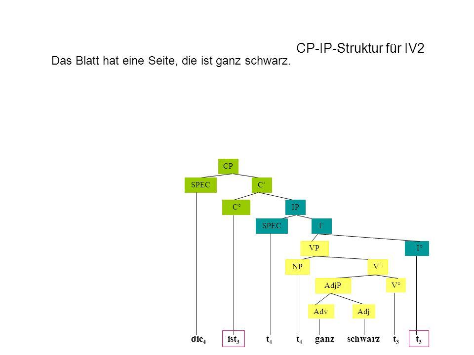CP-IP-Struktur für IV2 Das Blatt hat eine Seite, die ist ganz schwarz.