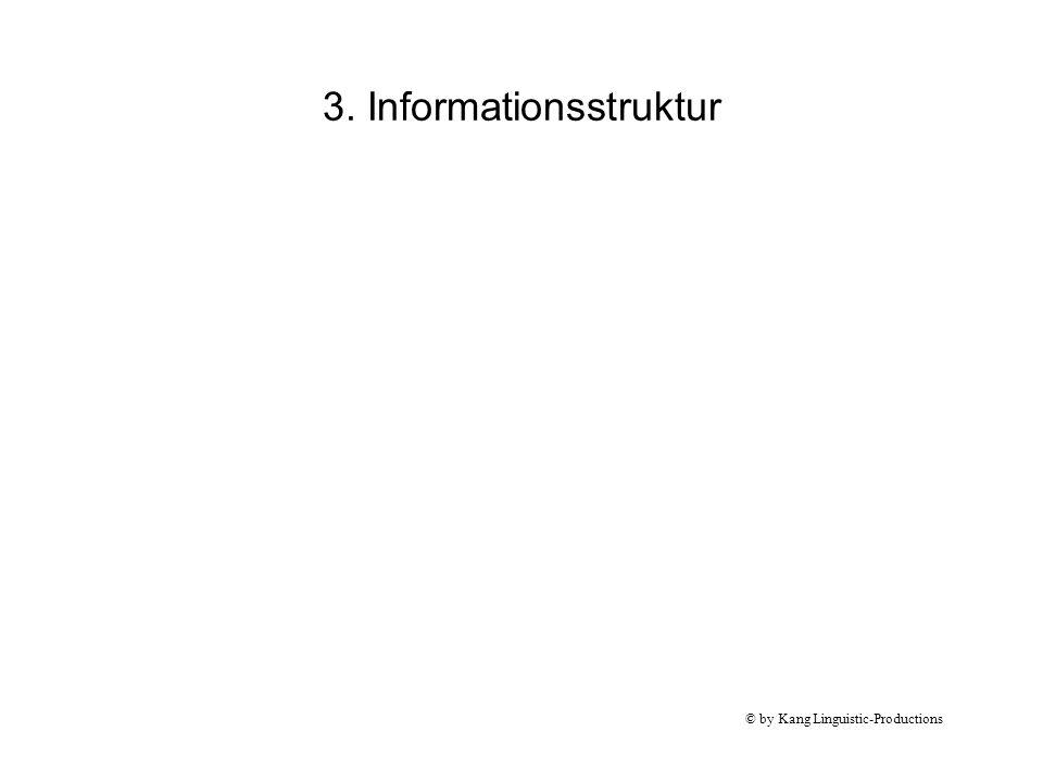 3. Informationsstruktur