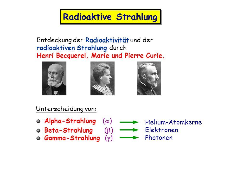 Radioaktive Strahlung