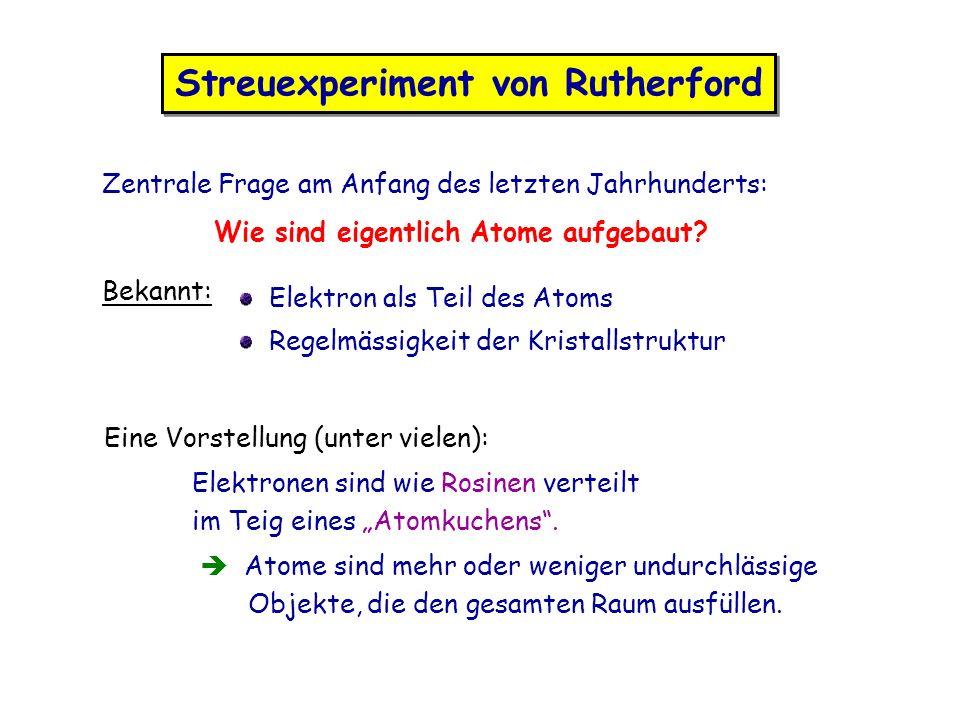 Streuexperiment von Rutherford