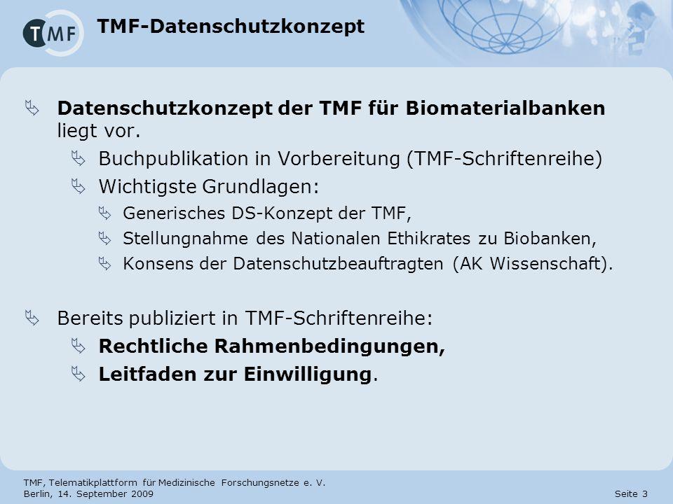 TMF-Datenschutzkonzept