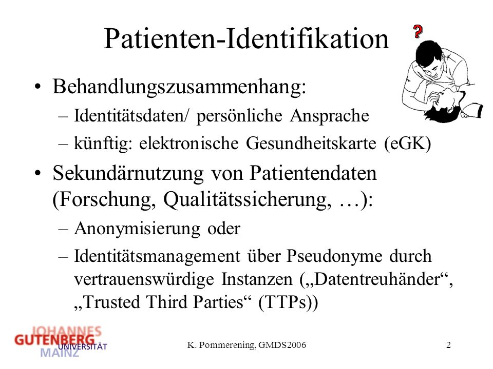 Patienten-Identifikation