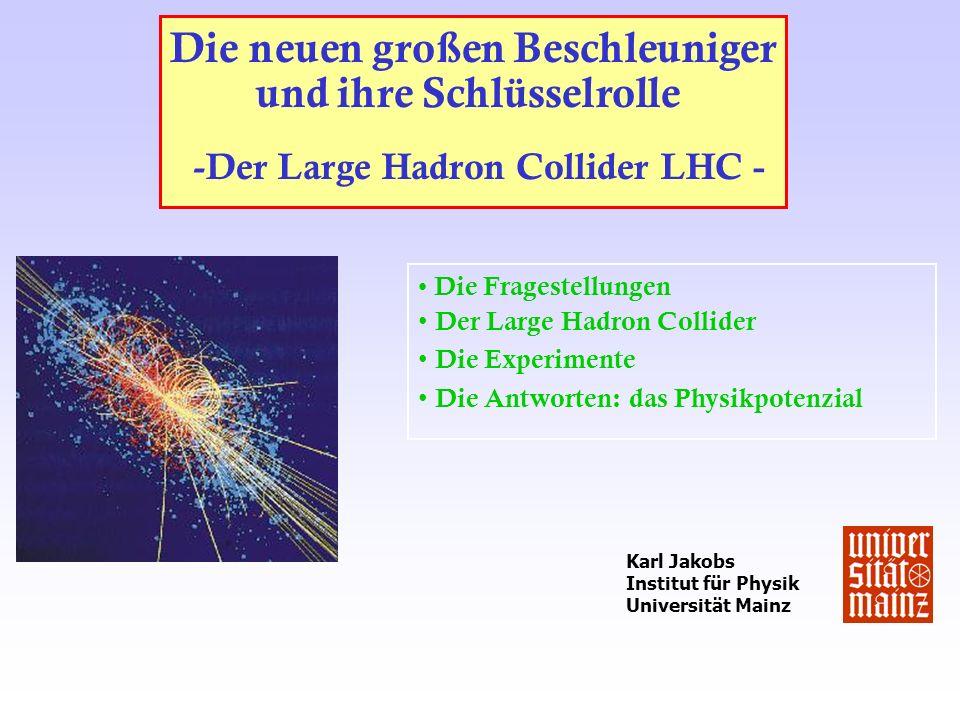 -Der Large Hadron Collider LHC -