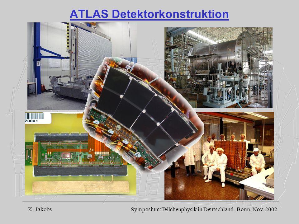 ATLAS Detektorkonstruktion