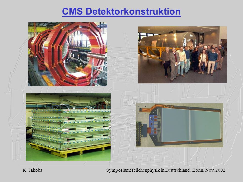 CMS Detektorkonstruktion
