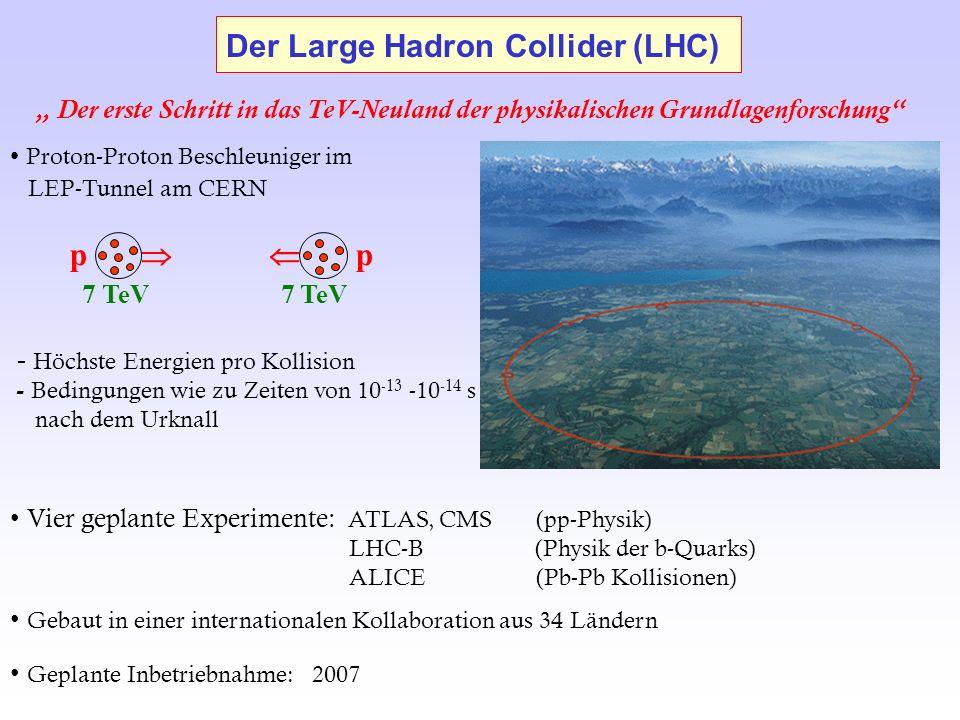 Der Large Hadron Collider (LHC)