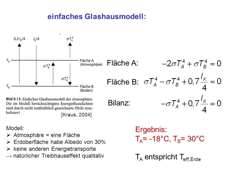 einfaches Glashausmodell: