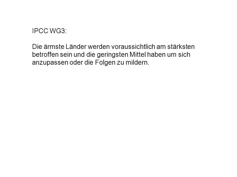 IPCC WG3:
