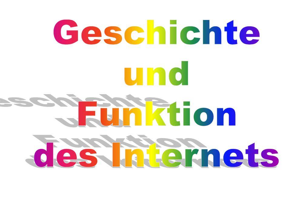 Geschichte und Funktion des Internets