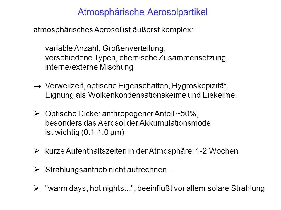 Atmosphärische Aerosolpartikel