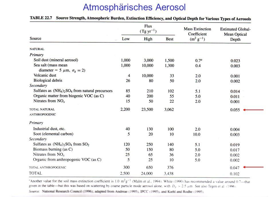 Atmosphärisches Aerosol