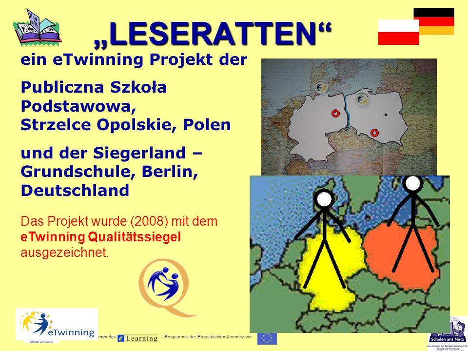 """""""LESERATTEN ein eTwinning Projekt der"""