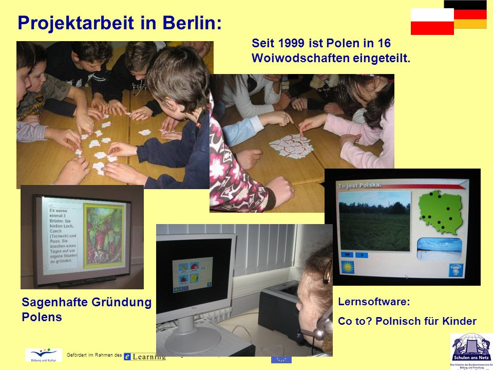 Projektarbeit in Berlin: