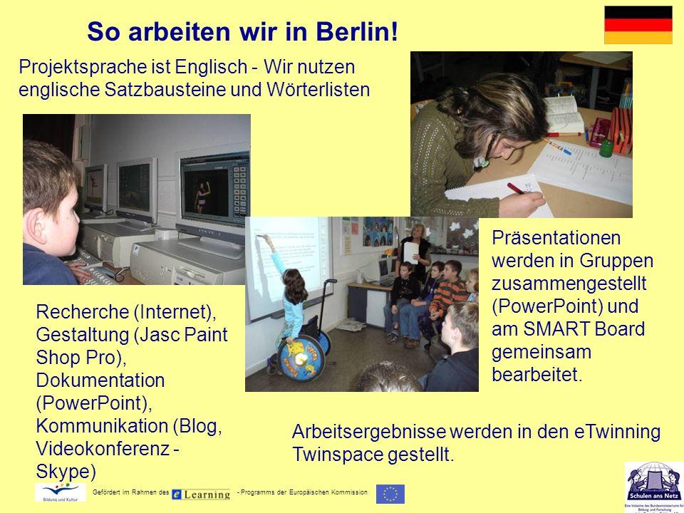 So arbeiten wir in Berlin!