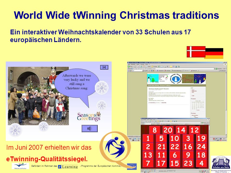 World Wide tWinning Christmas traditions