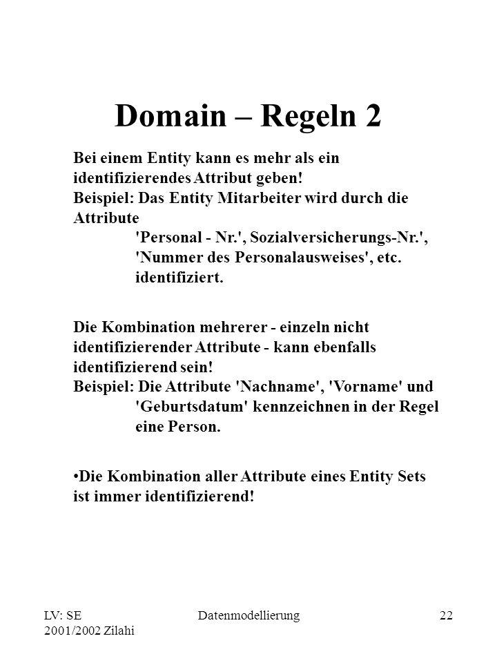Domain – Regeln 2