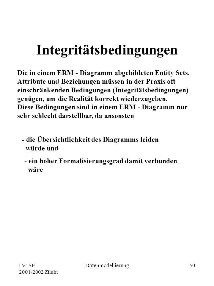 Integritätsbedingungen