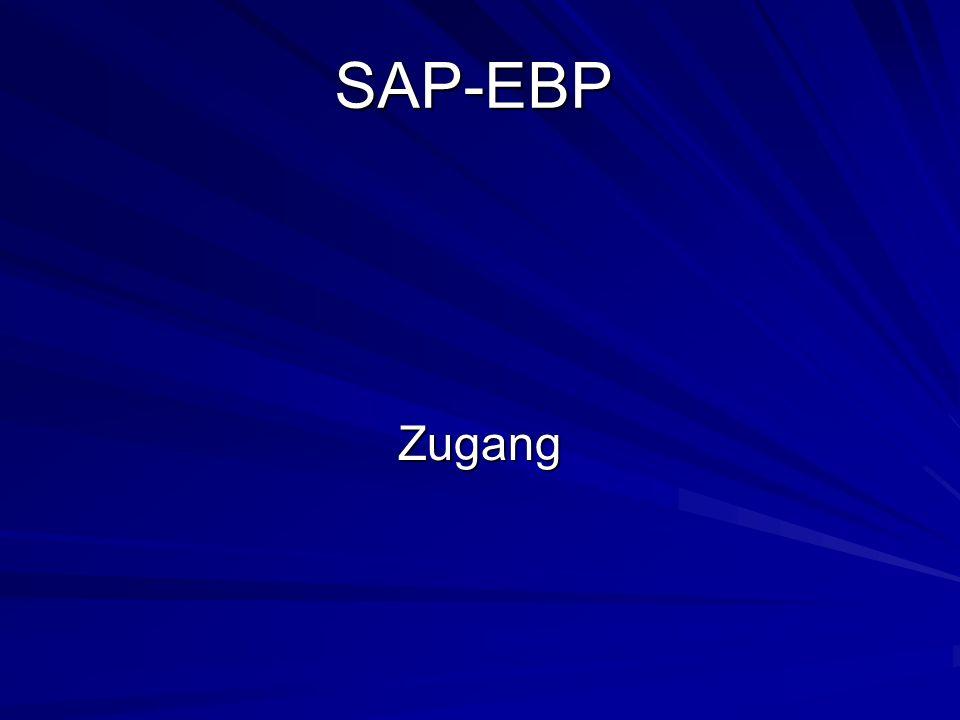 SAP-EBP Zugang