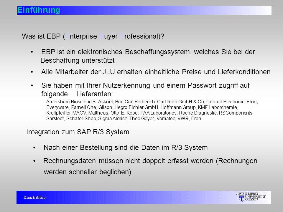 Einführung Was ist EBP (Enterprise Buyer Professional)