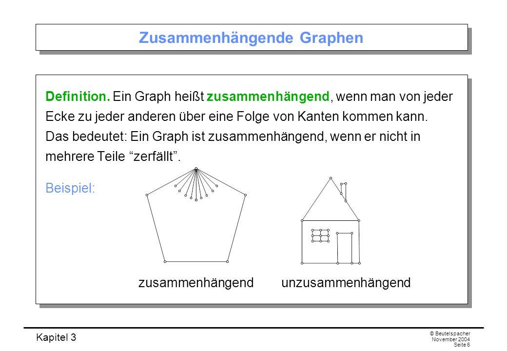Zusammenhängende Graphen
