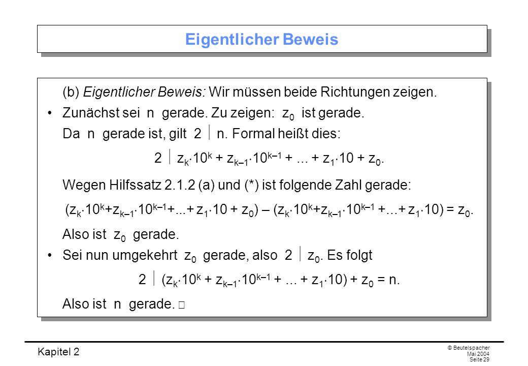2  (zk10k + zk–110k–1 + ... + z110) + z0 = n.