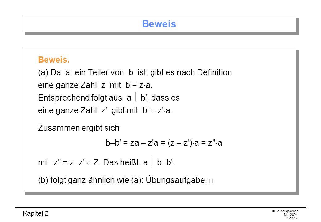 b–b = za – z a = (z – z )a = z a