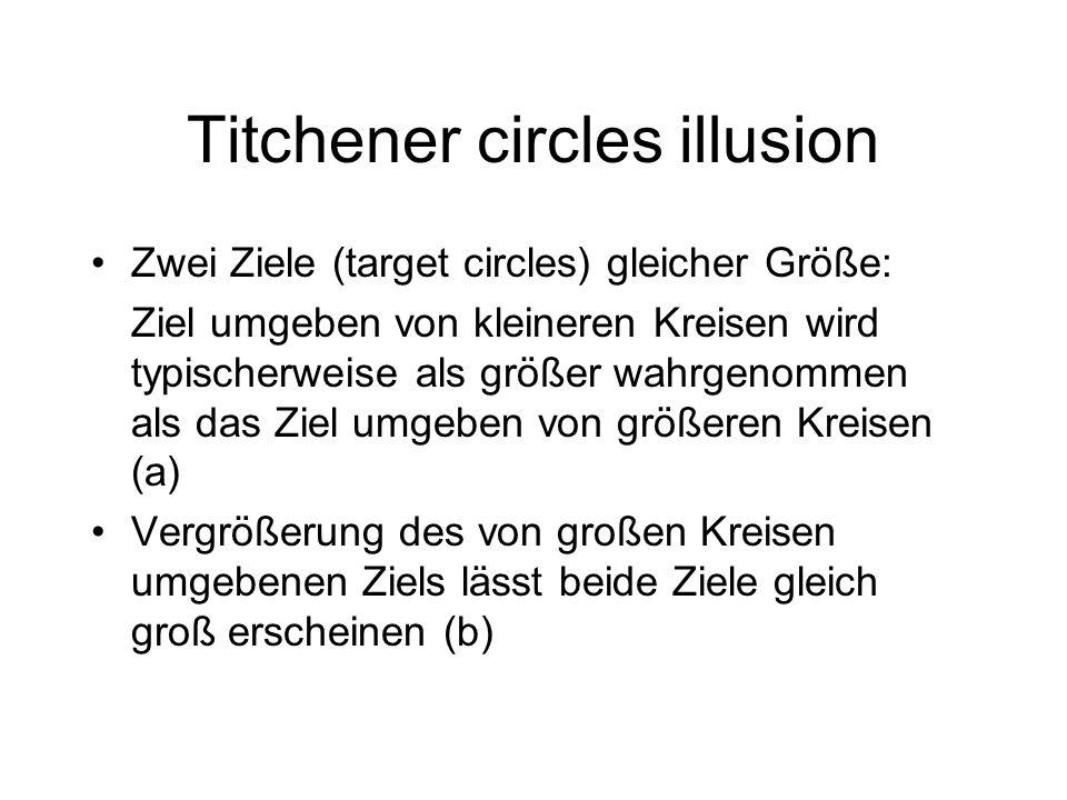 Titchener circles illusion