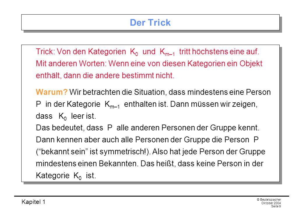 Der Trick