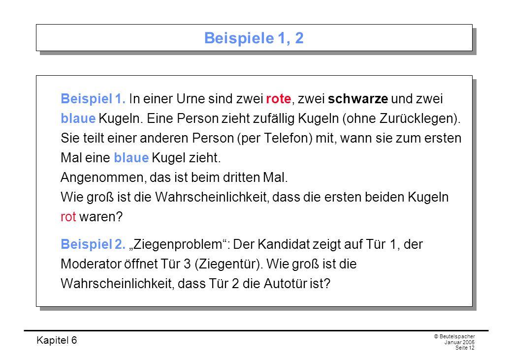 Beispiele 1, 2