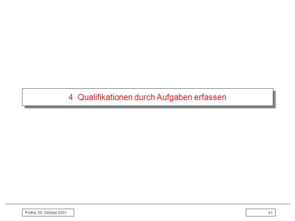 4 Qualifikationen durch Aufgaben erfassen