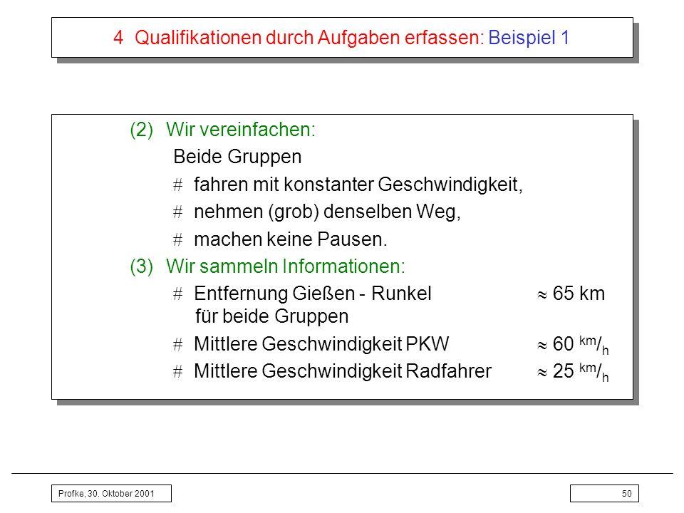 4 Qualifikationen durch Aufgaben erfassen: Beispiel 1