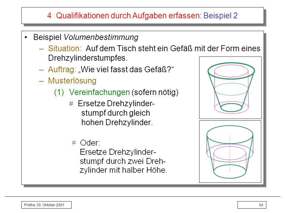 4 Qualifikationen durch Aufgaben erfassen: Beispiel 2