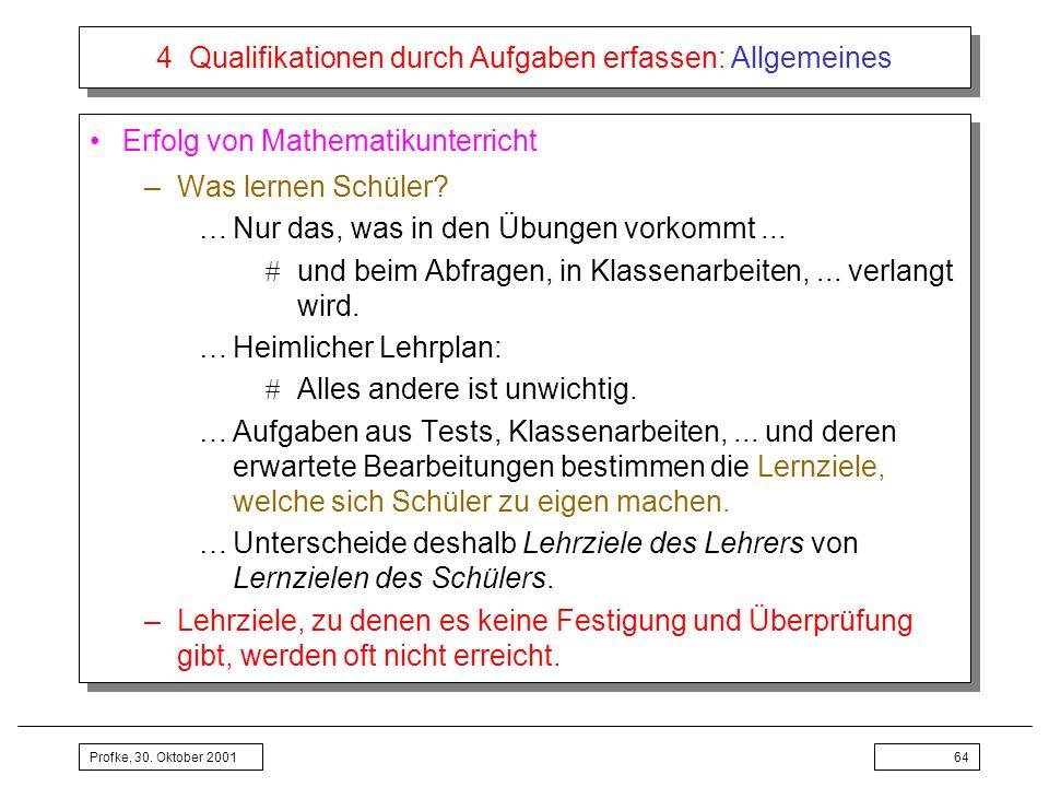 4 Qualifikationen durch Aufgaben erfassen: Allgemeines