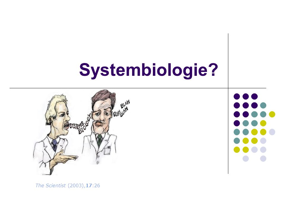 Systembiologie