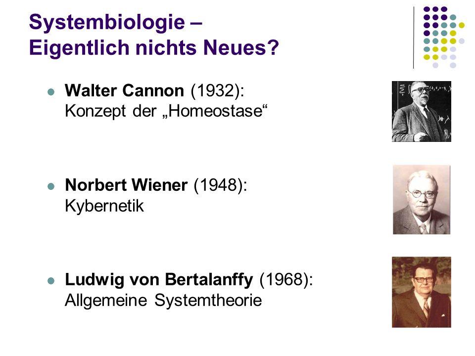 Systembiologie – Eigentlich nichts Neues