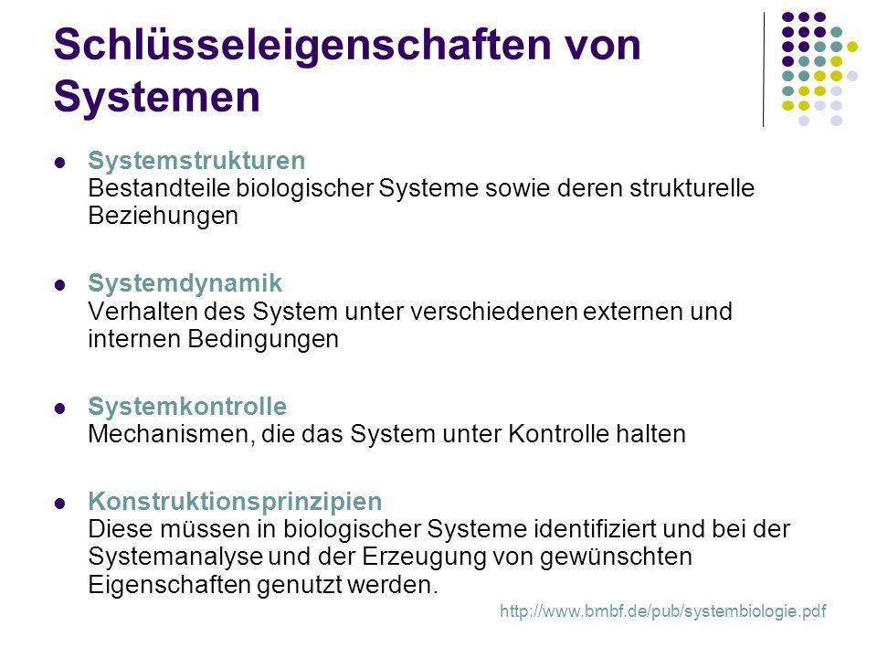 Schlüsseleigenschaften von Systemen
