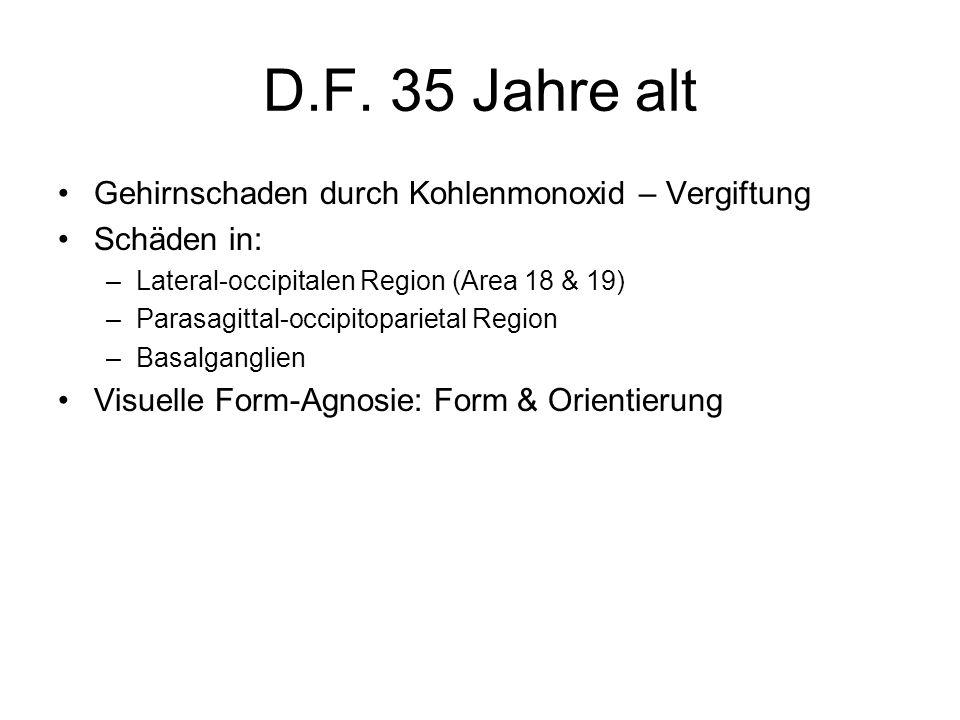 D.F. 35 Jahre alt Gehirnschaden durch Kohlenmonoxid – Vergiftung