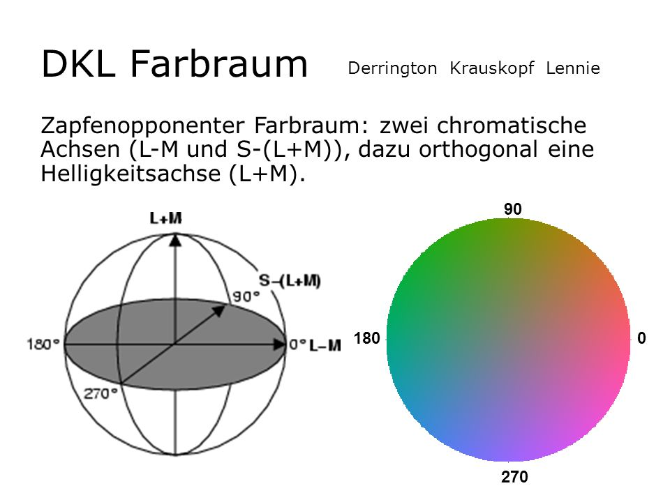 DKL FarbraumDerrington Krauskopf Lennie.