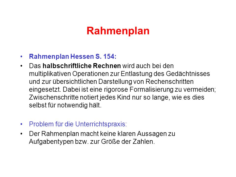 Rahmenplan Rahmenplan Hessen S. 154: