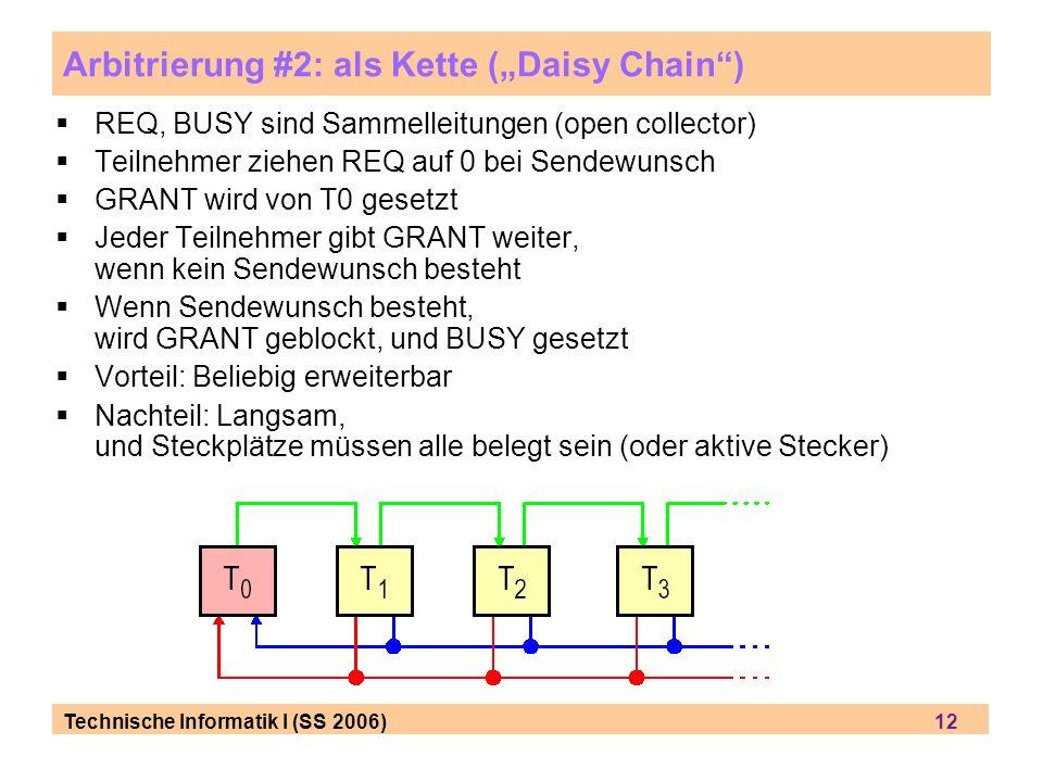 """Arbitrierung #2: als Kette (""""Daisy Chain )"""