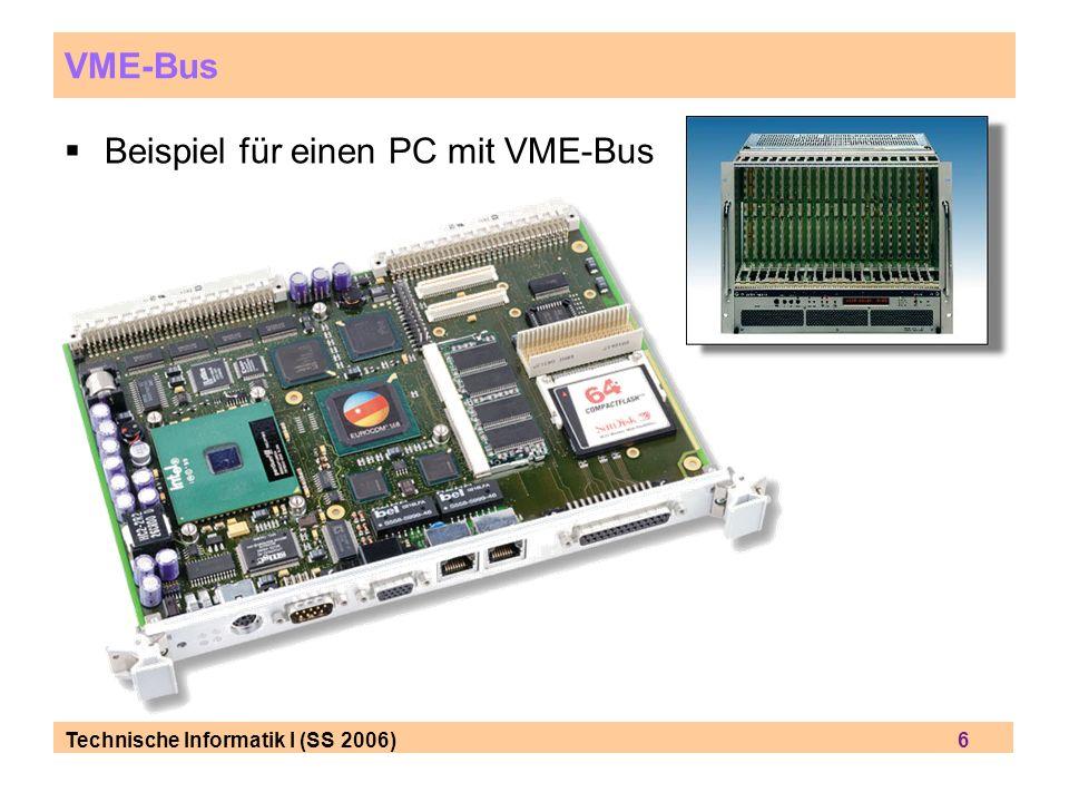 Beispiel für einen PC mit VME-Bus