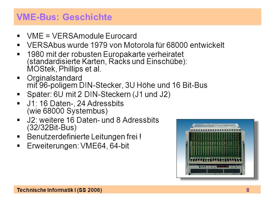 VME-Bus: Geschichte VME = VERSAmodule Eurocard