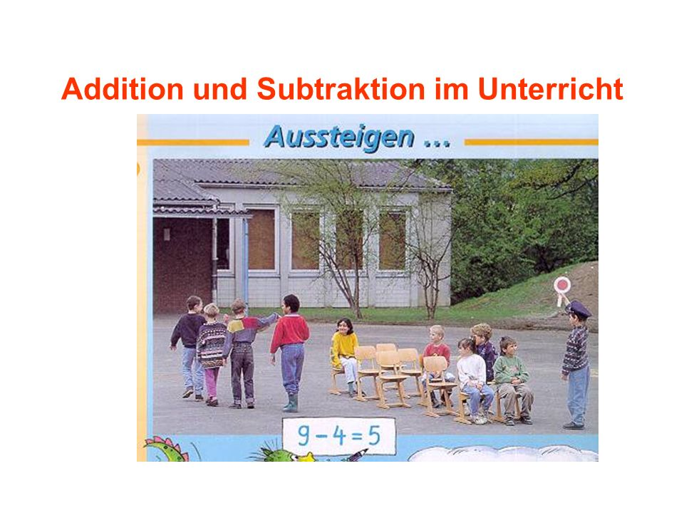 Addition und Subtraktion im Unterricht